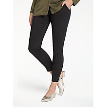 Buy Minimum Mone Casual Trousers, Black Online at johnlewis.com