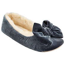 Buy John Lewis Bow Ballet Slippers Online at johnlewis.com