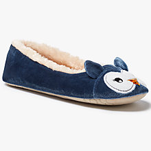 Buy John Lewis Owl Ballet Slippers, Multi Online at johnlewis.com