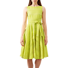 Buy Hobbs May Dress, Bright Lemon Online at johnlewis.com