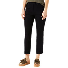 Buy Jigsaw Bi Stretch Cigarette Trousers, Dark Navy Online at johnlewis.com