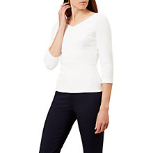 Buy Hobbs Clemence Top, Ivory Online at johnlewis.com