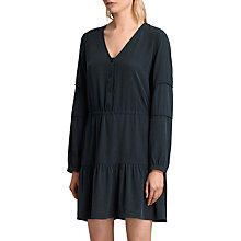 Buy AllSaints Nora Dress, Black Online at johnlewis.com