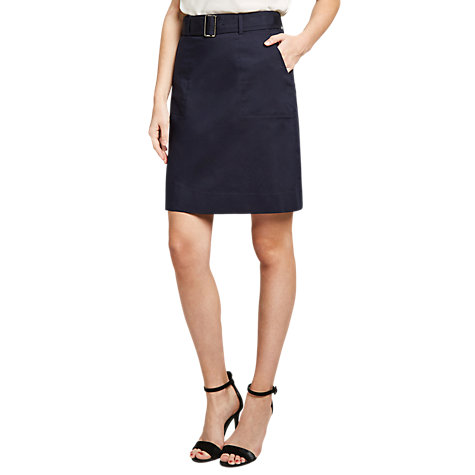 Buy Winser London Twill A-Line Skirt | John Lewis