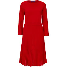 Buy Winser London Cotton Pleat Dress Online at johnlewis.com