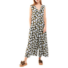 Buy Jigsaw Poppy Fields Jumpsuit, Golden Olive Online at johnlewis.com