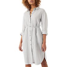 Buy Jigsaw Linen Shirt Dress Online at johnlewis.com