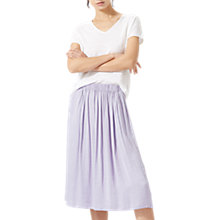 Buy Jigsaw Crocus Drape Midi Skirt Online at johnlewis.com