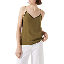 Buy Jigsaw Lace Insert Silk Cami Online at johnlewis.com