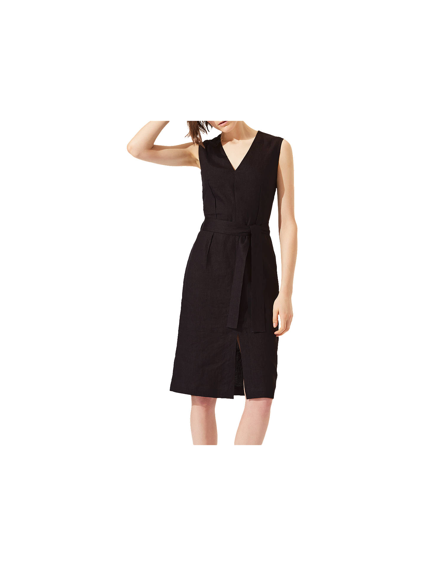 bca9346364c Jigsaw Linen Belted Dress at John Lewis   Partners