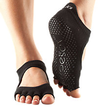 Buy Bellarina Half Toe Barre Toesox, Black Online at johnlewis.com