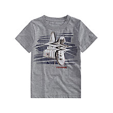 Buy Converse Boys' Shifted Trucks T-Shirt, Grey Online at johnlewis.com