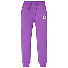 Buy Converse Girls' Joggers, Violet Online at johnlewis.com