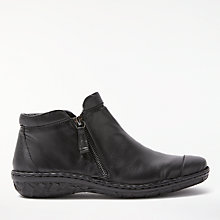 Buy John Lewis Designed for Comfort Yale Double Zip Shoe Boots Online at johnlewis.com