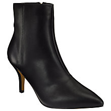 Buy John Lewis Oriel Stiletto Heeled Ankle Boots, Black Online at johnlewis.com