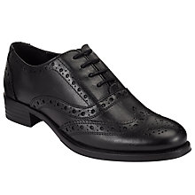 Buy John Lewis Felicity Lace Up Brogues, Black Online at johnlewis.com