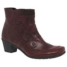 Buy Gabor Georgie Block Heeled Ankle Boots Online at johnlewis.com