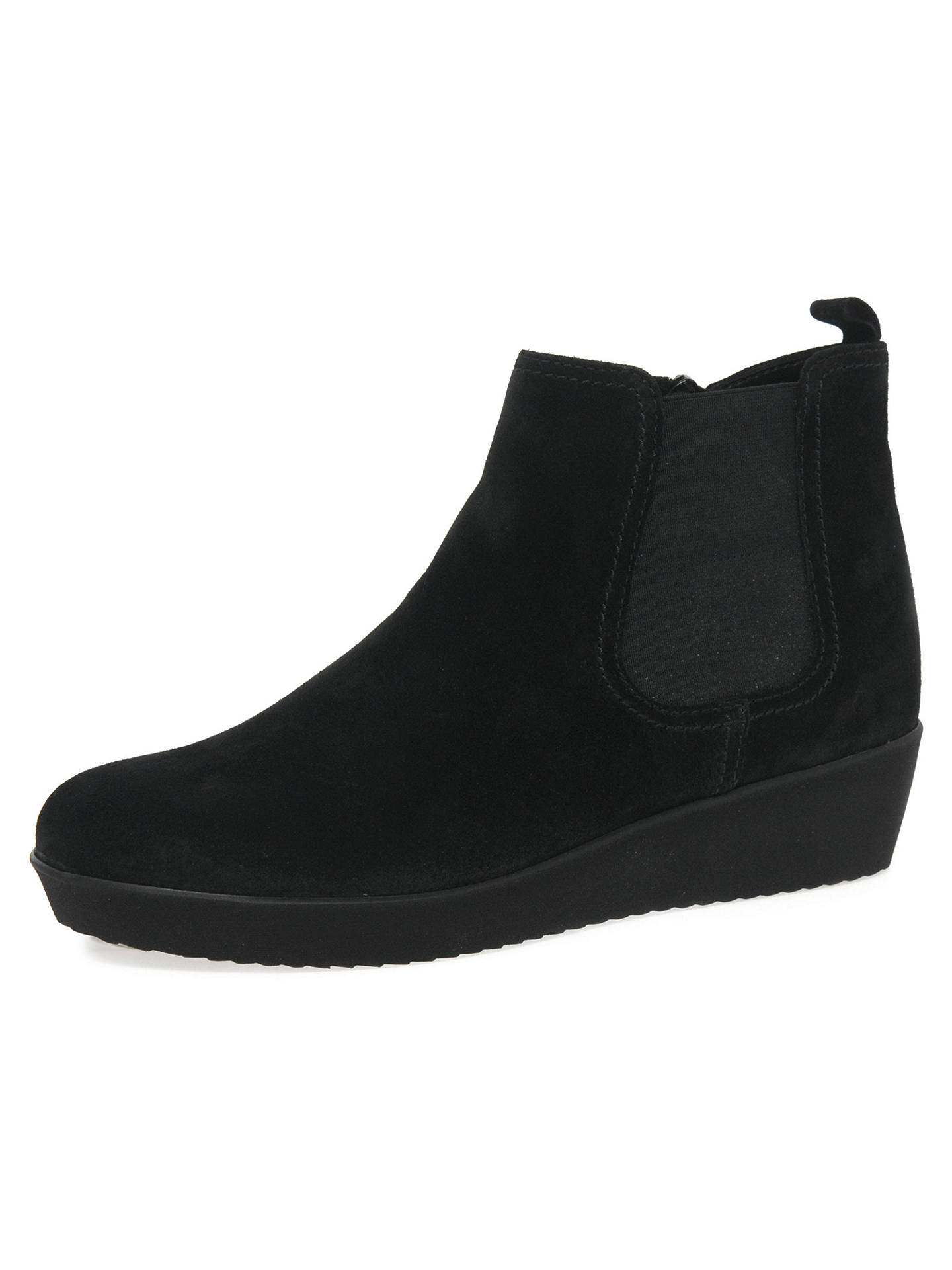 6ee3319ad71 Gabor Ghost Wide Fit Ankle Chelsea Boots, Black at John Lewis & Partners