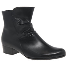 Buy Gabor Jensen Extra Wide Fit Ankle Boots, Black Online at johnlewis.com