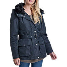 Buy Barbour International Outlaw Jacket, Navy Online at johnlewis.com