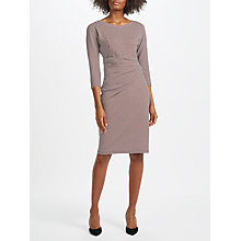 Buy Weekend MaxMara Gervaso Printed Jersey Dress, Dark Red Online at johnlewis.com