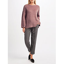 Buy Weekend MaxMara Mohair Knit, Pink Online at johnlewis.com