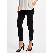 Buy Weekend MaxMara Dodo Slim Trousers, Black Online at johnlewis.com