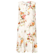 Buy Velvet by Graham & Spencer Nerissa Vintage Floral Dress, Pink Floral Online at johnlewis.com
