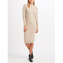 Buy Weekend MaxMara Riom Knitted Dress, Sand Online at johnlewis.com