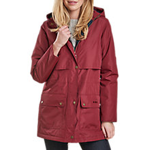 Buy Barbour Stratus Waterproof Hooded Jacket Online at johnlewis.com