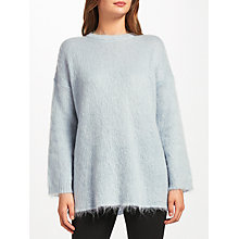 Buy Weekend MaxMara Mohair Knit, Light Blue Online at johnlewis.com