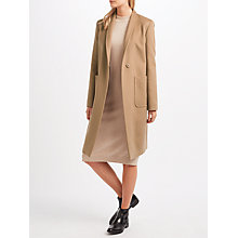 Buy Weekend MaxMara Lux Coat, Camel Online at johnlewis.com