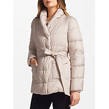 Buy Weekend MaxMara Tirolo Quilted Belt Coat Online at johnlewis.com