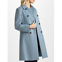 Buy Weekend MaxMara Acino Coat, Light Blue Online at johnlewis.com