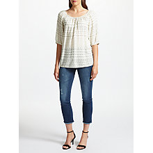 Buy Velvet by Graham & Spencer Abiel Blouse, Grecian Online at johnlewis.com