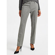 Buy Weekend MaxMara Olindo Slim Trousers, Black Online at johnlewis.com
