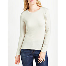 Buy Weekend MaxMara Multi H Jersey Top, Vanilla Online at johnlewis.com