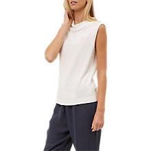 Buy Jaeger Drape Neck Jersey Top Online at johnlewis.com