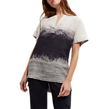 Buy Jaeger Degrade Print Top, Multi/Grey Online at johnlewis.com