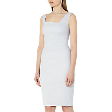 Buy Reiss Harloe Textured Bodycon Dress, Frosted Mint Online at johnlewis.com