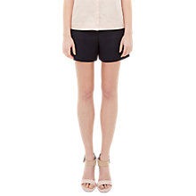 Buy Ted Baker Colour By Numbers Tilli Plain Shorts, Navy Online at johnlewis.com