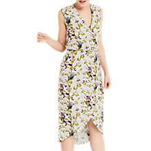 Buy Oasis Topaz Bird Pencil Dress, Multi Online at johnlewis.com