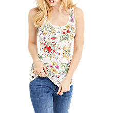 Buy Oasis Azelea Print Floral Vest, Multi Online at johnlewis.com