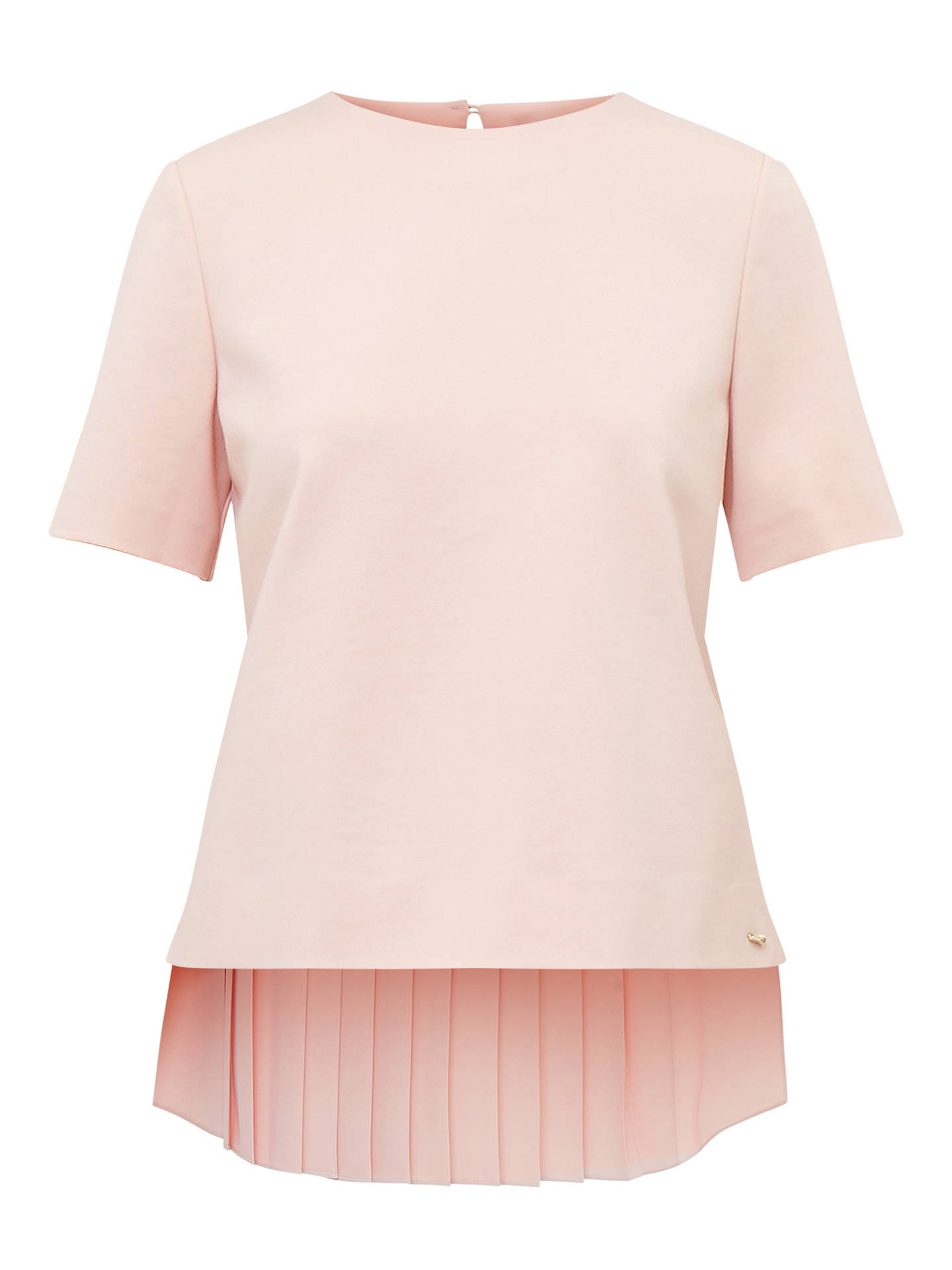 a31d07e8e Ted Baker Colour By Numbers Naevaa Top With Pleated Back at John ...