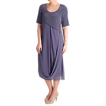 Buy Chesca Crepe Bodice Chiffon Drape Dress Online at johnlewis.com