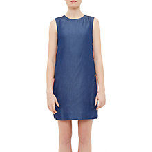 Buy Ted Baker Colour By Numbers Teeup Lace Side Tunic Dress, Mid Wash Online at johnlewis.com