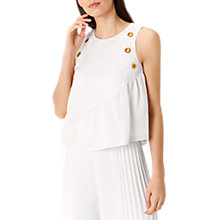 Buy Coast Tuscany Eyelet Top, Ivory Online at johnlewis.com