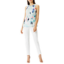 Buy Coast Maysa Pleated Top, Multi Online at johnlewis.com