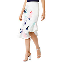 Buy Coast Anessa Floral Print Skirt, Multi Online at johnlewis.com