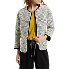 Buy White Stuff Quilt Up Jacket, Ecru Online at johnlewis.com
